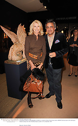 SUZANNE TOGNA and BALDASSARE LA RIZZA at a preview evening of the annual London LAPADA (The Association of Art & Antiques Dealers) antiques Fair held in Berkeley Square, London on 21st September 2010. *** Local Caption *** Image free to use for 1 year from image capture date as long as image is used in context with story the image was taken.  If in doubt contact us - info@donfeatures.com<br /> SUZANNE TOGNA and BALDASSARE LA RIZZA at a preview evening of the annual London LAPADA (The Association of Art & Antiques Dealers) antiques Fair held in Berkeley Square, London on 21st September 2010.