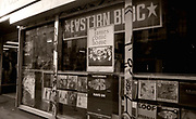 Eastern Bloc record shop on Oldham Street, Manchester, 1980/90s