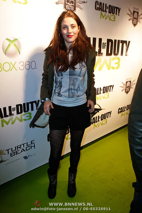 NLD/Amsterdam/20111107- Lancering Call of Duty MW3, Nadia Palesa