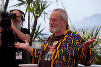 Director Terry Gilliam at The Man Who Killed Don Quixote  film photo call at the 71st Cannes Film Festival, Saturday 19th May 2018, Cannes, France. Photo credit: Doreen Kennedy