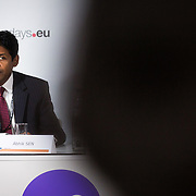 20160615 - Brussels , Belgium - 2016 June 15th - European Development Days - Better policies for better youth livelihoods - Abhik Sen , Head of Policy and Research , Youth Division , The Commonwealth Secretariat © European Union
