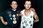 Portrait Of Two Men With Patches At Northern Soul Club