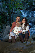 Family portrait of U.S. Army National Guard Specialist Kristopher Gill, with wife Alisia and daughter Raquel at Cunningham Falls State Park located in the picturesque Catoctin Mountains near their home in Smithsburg, Maryland. Photos by Johnny Bivera