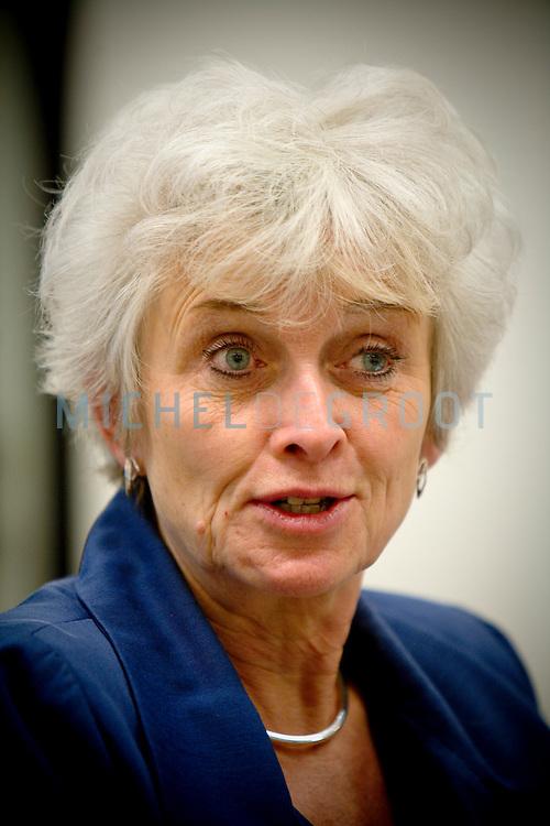 Jacqueline Cramer, minister van Ruimte en Milieu - VROM in Den Haag, Netherlands on December  09, 2008. (photo by Michel de Groot)