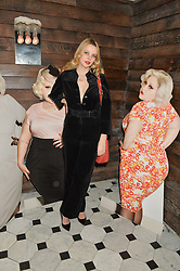 GRETA BELLAMACINA at a party to celebrate the launch of the Beth Ditto Clothing Line held at The London Edition, Berners Street, London on 18th February 2016.