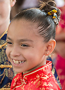 Staff, students and community members celebrate the Chinese Lunar New Year at the Mandarin Chinese Language Immersion Magnet School, February 20, 2016.
