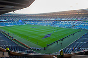 General view inside BT Murrayfield Stadium, Edinburgh, Scotland before the Autumn Test match between Scotland and South Africa on 17 November 2018.