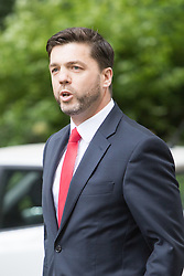 Downing Street,  London, June 27th 2015. Work and Pensions Secretary Stephen Crabb arrives for the first post-Brexit cabinet meeting at 10 Downing Street