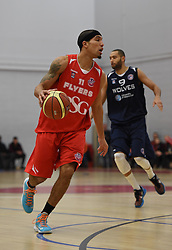 Greg Streete of Bristol Flyers in action during the BBL game between Bristol Flyers and Worcester Wolves at Wise Basketball Arena on January 17, 2015 in Bristol, England. - Photo mandatory by-line: Paul Knight/JMP - Mobile: 07966 386802 - 17/01/2015 - SPORT - Football - Bristol - SGS Wise Arena - Bristol Flyers v Worcester Wolves - Bristol Basketball League