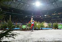 BIATHLON / World Team Challenge in der Gelsenkirchen Arena  Laeufer auf der Loipe in der Arena, Allgemein