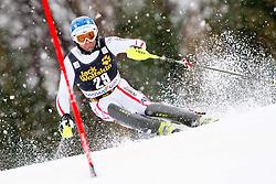HOERL Wolfgang of Austria competes during the 1st Run of 10th Men's Slalom - Pokal Vitranc 2013 of FIS Alpine Ski World Cup 2012/2013, on March 10, 2013 in Vitranc, Kranjska Gora, Slovenia. (Photo By Vid Ponikvar / Sportida.com)