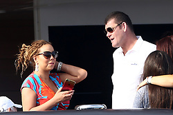 James Packer and Mariah Carey on Arctic yacht in Cannes, France on June 25, 2015. Photo by ABACAPRESS.COM  | 506410_016 Antibes France