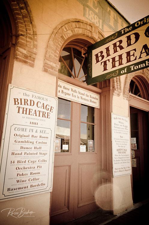 The Bird Cage Theater, Tombstone, Arizona USA
