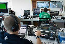 Television crew at work at the 2012 Monsoon Cup. Kuala Terengganu, Malaysia. 7 December 2012. Photo: Subzero Images/Monsoon Cup