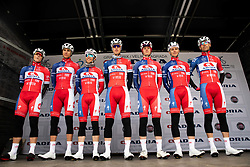 Team KK Adria Mobil prior to the cycling race 5th Grand Prix Adria Mobil, on April 7, 2019, in Novo mesto, Slovenia. Photo by Vid Ponikvar / Sportida