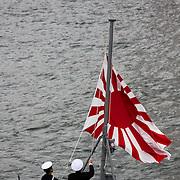 Japan Self-Defense Forces Fleet Review 2015