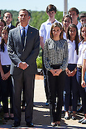 071516 Spanish Royals Attend audience at Zarzuela Palace