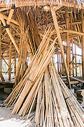 Bamboo building materials