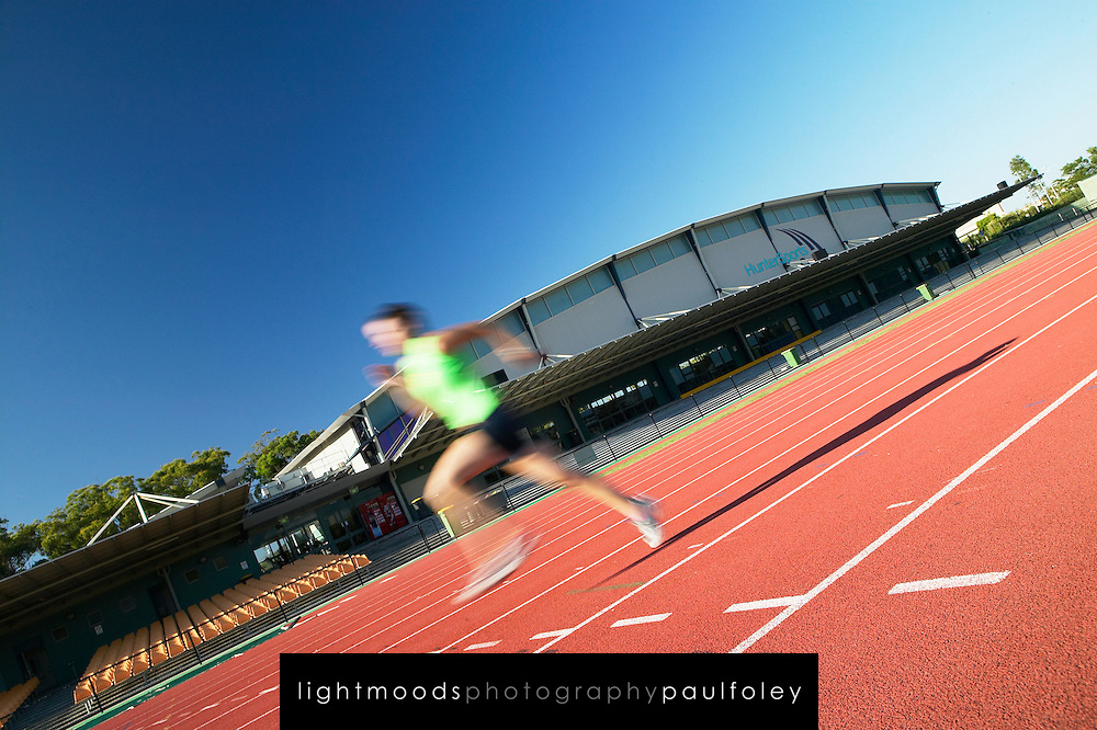Training at Glendale Sports Centre, Lake Macquarie, Australia.