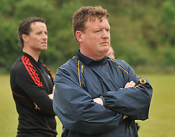 Knockmore manager Nigel Reape.<br /> Pic Conor McKeown