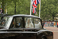Kate Middleton; Michael Middleton (Father) William & Kate Royal Wedding, London, UK, 29 April 2011:  Contact: Rich@Piqtured.com +44(0)7941 079620 (Picture by Richard Goldschmidt)