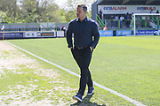 Forest Green Rovers manager, Mark Cooper during the Vanarama National League Play Off second leg match between Forest Green Rovers and Dagenham and Redbridge at the New Lawn, Forest Green, United Kingdom on 7 May 2017. Photo by Shane Healey.
