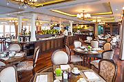 Interior of Mekong Navigator cruise ship, for Haimark