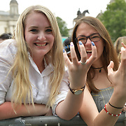 West End Live 2019 - Day 2 in Trafalgar Square, on 23 June 2019, London, UK.