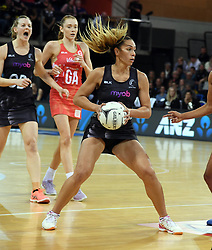 New Zealand's Grace Rasmussen against England in the Taini Jamison Trophy netball series match at Te Rauparaha Arena, Porirua, New Zealand, Thursday, September 07, 2017. Credit:SNPA / Ross Setford  **NO ARCHIVING**