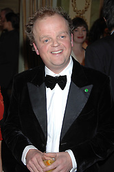 Actor TOBY JONES attending the 27th Awards of the London Film Critics' Circle 2007 in aid of the NSPCC held at The Dorchester, Park Lane, London on 8th February 2007.<br />