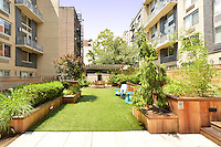 Courtyard at 505 West 47th Street