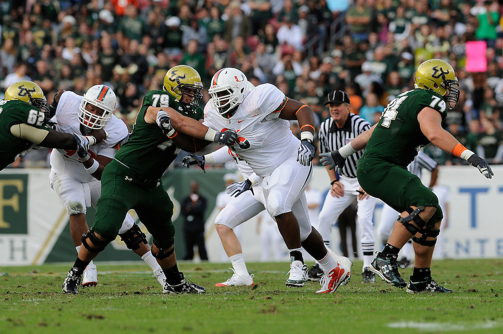 2009 Miami Hurricanes Football @ South Florida