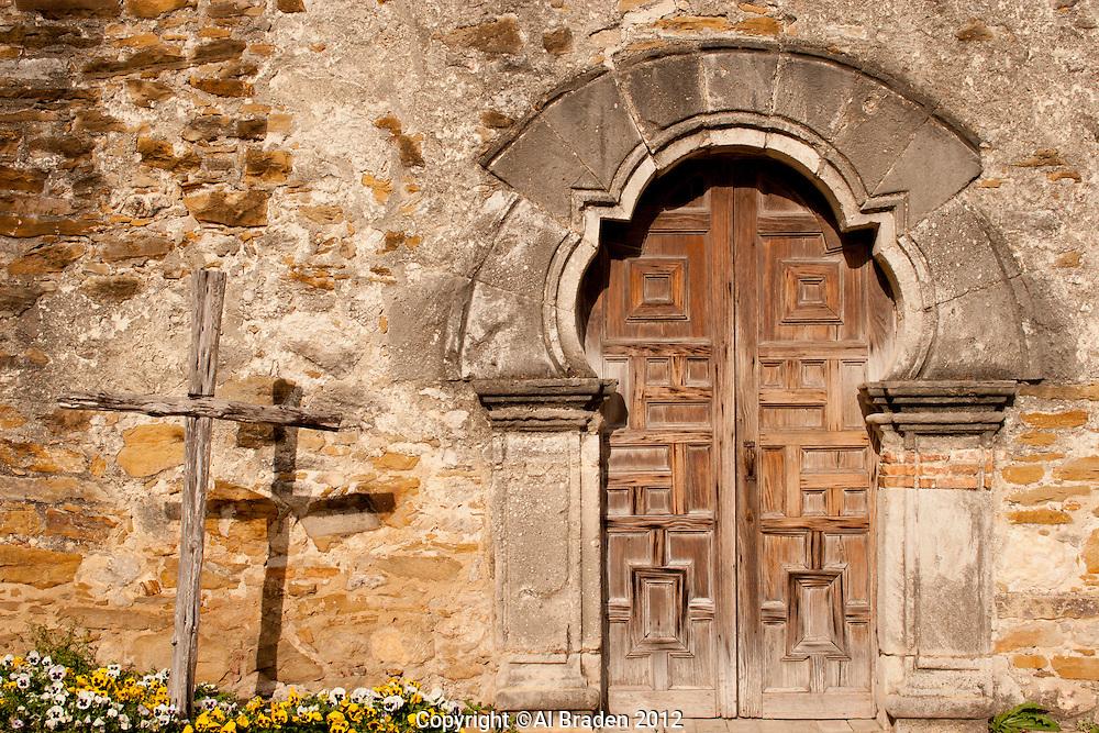 Chapel Door, Mission Espada, San Antonio, TX