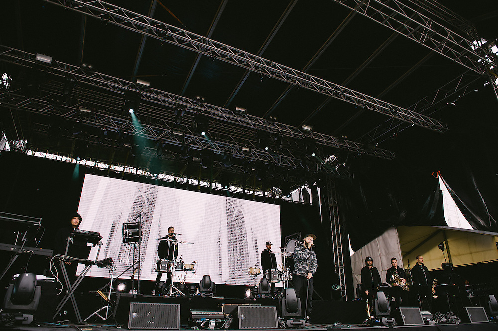 Photos of Woodkid performing live at Secret Solstice Music Festival 2014 in Reykjavík, Iceland. June 20, 2014. Copyright © 2014 Matthew Eisman. All Rights Reserved