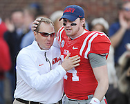Ole Miss vs. Mississippi State at Vaught-Hemingway Stadium in Oxford, Miss. on Saturday, November 29, 2014.