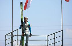 Jure Sinkovec of Slovenia at FIS Continental cup Ski-jumping Summer Kranj, on July 6, 2008, Kranj, Slovenia. (Photo by Vid Ponikvar / Sportal Images)<br /> <br /> / Sportida)