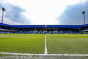General stadium view inside Loftus Road before the EFL Sky Bet Championship match between Queens Park Rangers and Swansea City at the Loftus Road Stadium, London, England on 13 April 2019.