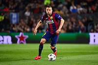 Jordi ALBA - 21.04.2015 - Barcelone / Paris Saint Germain - 1/4Finale Retour Champions League<br />