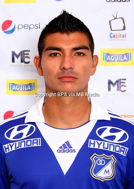 Colombia League - Postobom Liga 2014-2015 - <br /> Millonarios Futbol Club - Colombia / <br /> Juan Felipe Osuna