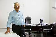 Lavras_MG , Brasil.<br /> <br /> Prefeito Silas Costa Pereira em seu gabinete em Lavras, Minas Gerais.<br /> <br /> Silas Costa Pereira mayor in Lavras, Minas Gerais.<br /> <br /> Foto: LEO DRUMOND / NITRO