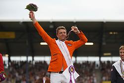 Dubbeldam Jeroen, Dubbeldam Nina, Dubbeldam Chris<br /> Gold medal winner<br /> Individual Final Competition<br /> FEI European Championships - Aachen 2015<br /> © Hippo Foto - Dirk Caremans<br /> 23/08/15