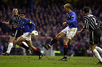 Rangers v Dunfermline, Scottish Premier.<br />