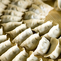 Dumplings  at Stone Boat, in Ritan Park,  in Beijing, China, on Monday  May 25, 2009/ Photographer: Bernardo De Niz/