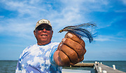 Erlindo is the longest serving guide at El Pescador Lodge in Belize at 74 and going strong.