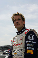 Kenny Brack at the Indianapolis Motor Speedway, Indianapolis 500, May 29, 2005