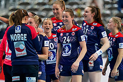 11-12-2019 JAP: Norway - Germany, Kumamoto<br /> Last match Main Round Group1 at 24th IHF Women's Handball World Championship, Norway win the last match against Germany with 32 - 29. / Sanna Charlotte Solberg #24 of Norway