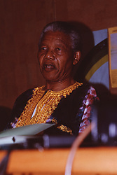 File Photo- Nelson Mandela Dead. <br /> Dec 1991 -- Nelson Mandela at a press conference in Johannesburg, SOUTH AFRICA. Picture by Jonathan Mitchell / i-Images<br /> File Photo- Nelson Mandela Dead: Former South African President Has Died At 95. The former South African president had been suffering from a recurring lung infection, Thursday December 05, 2013.<br /> Picture by Jonathan Mitchell / i-Images