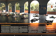 Yoga in India at Sivananda Ashram.<br />