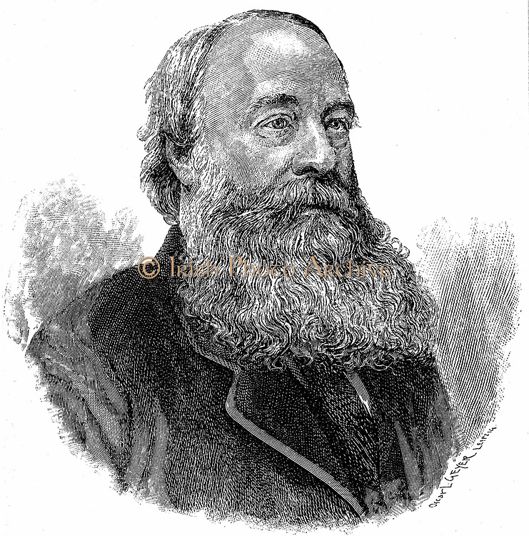 James Prescott Joule (1818-1889) English physicist: Studied chemistry under John Dalton: Worked with William Thomson (Lord Kelvin).  Mechanical equivalent of heat (J). Unit of energy, Joule, named after him.  Engraving c1895.