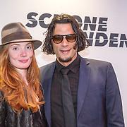 NLD/Amsterdam/20150907 - Premiere Schone Handen, Poal Cairo en partner